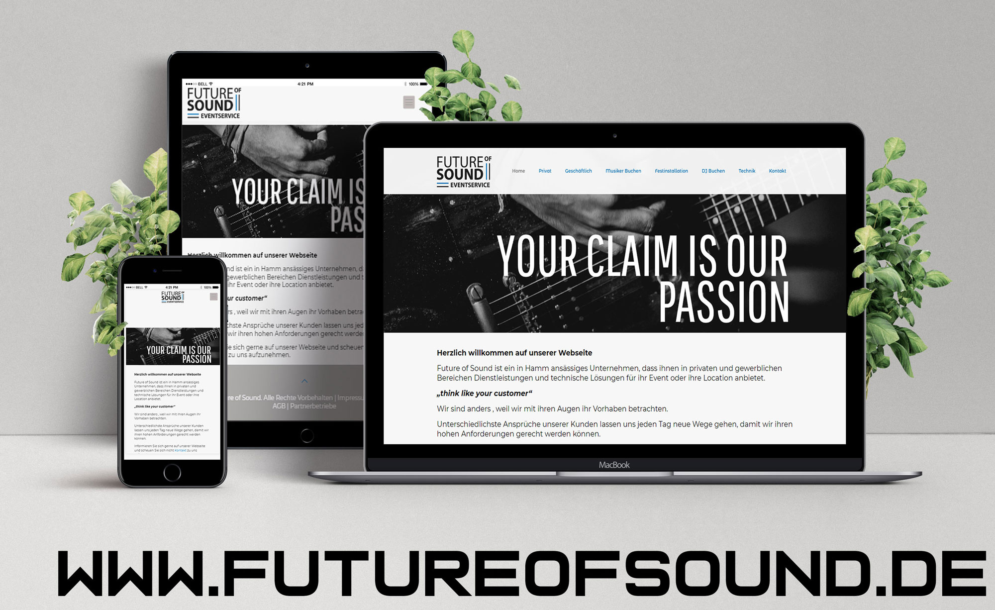 Futureofsound Webseite